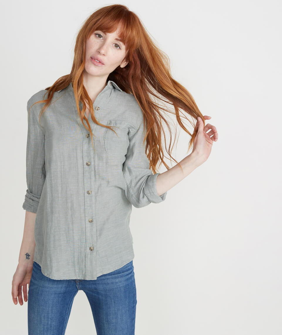 Cora Button Down