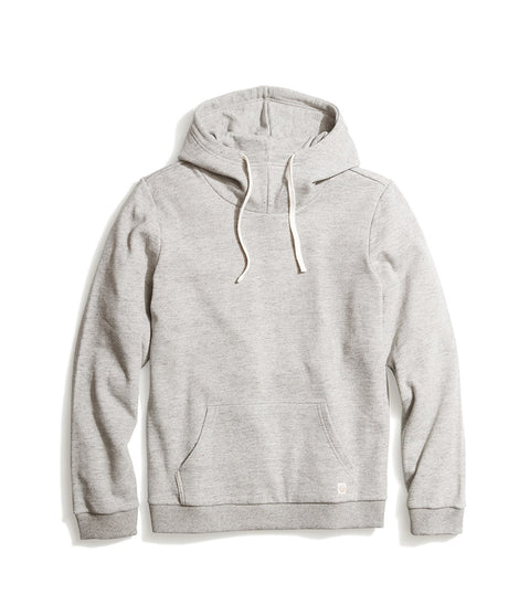 Cowlneck Hoodie in Heather Grey