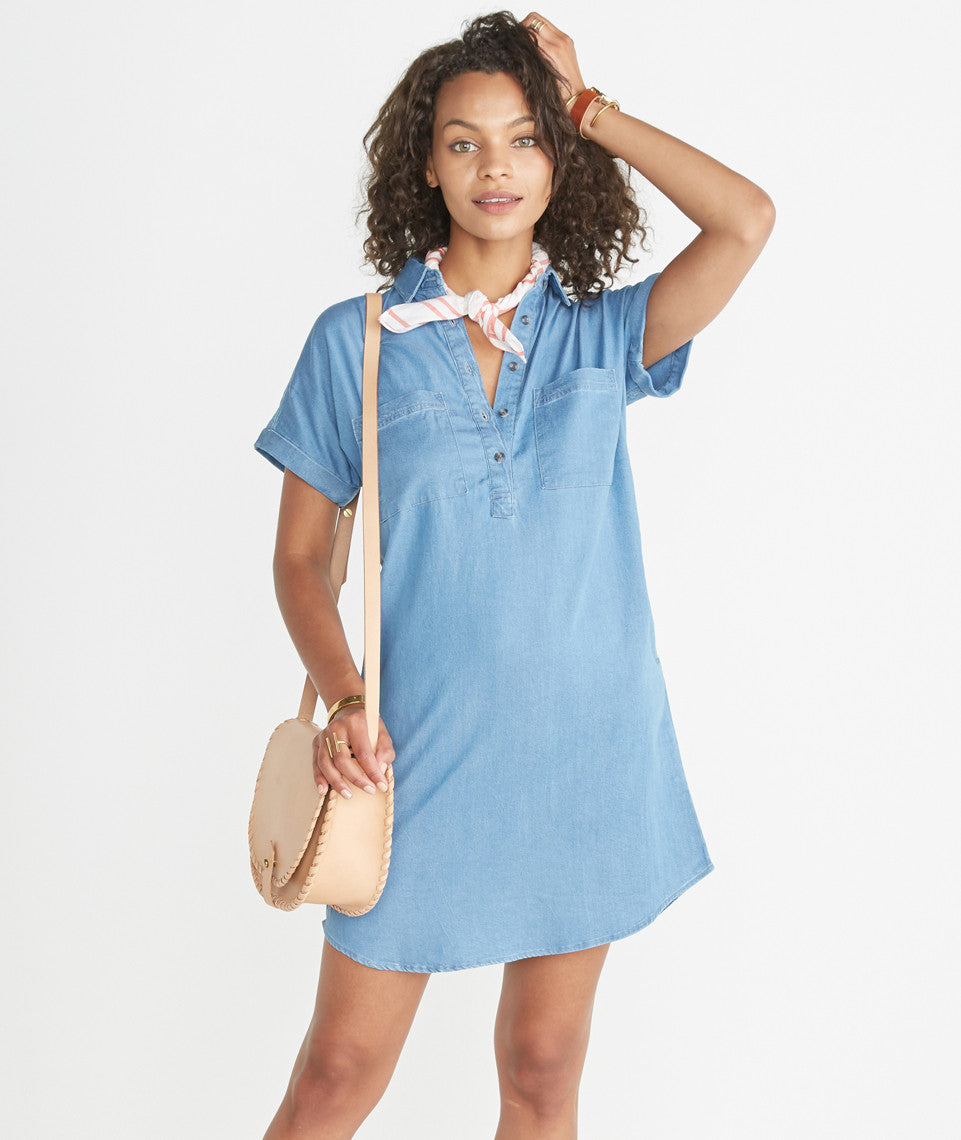 Daisy Chambray Tunic
