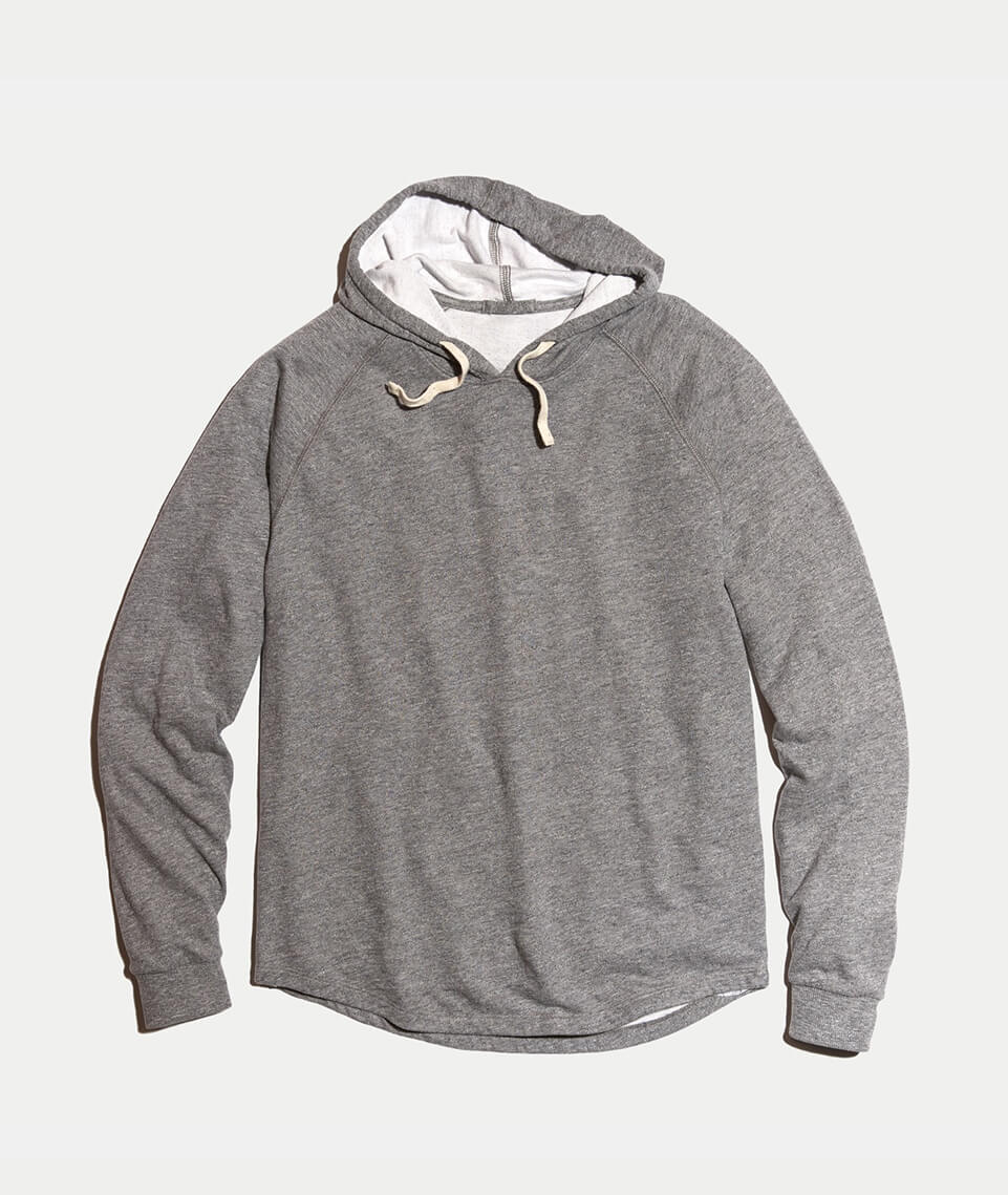 16c5d7c7251a Double Knit Hoodie in Heather Grey – Marine Layer