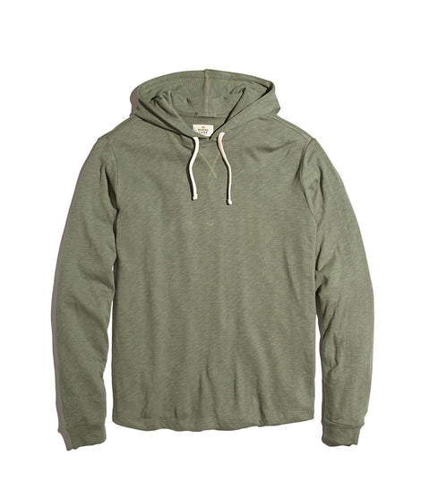 Double Knit Hoodie in Faded Thyme