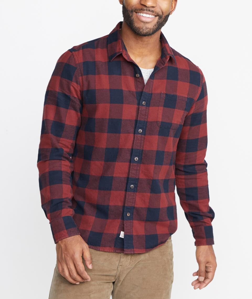 Downey Flannel Button Down