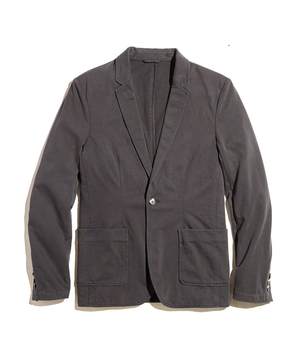 Duke Blazer in Faded Black