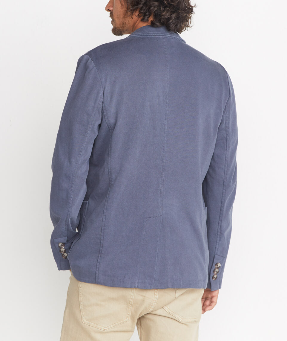 Duke Blazer in Faded Navy