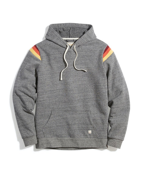 Banks Pullover Hoodie in Dark Heather Grey