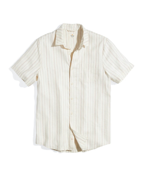 Short Sleeve Hemp Tencel Shirt
