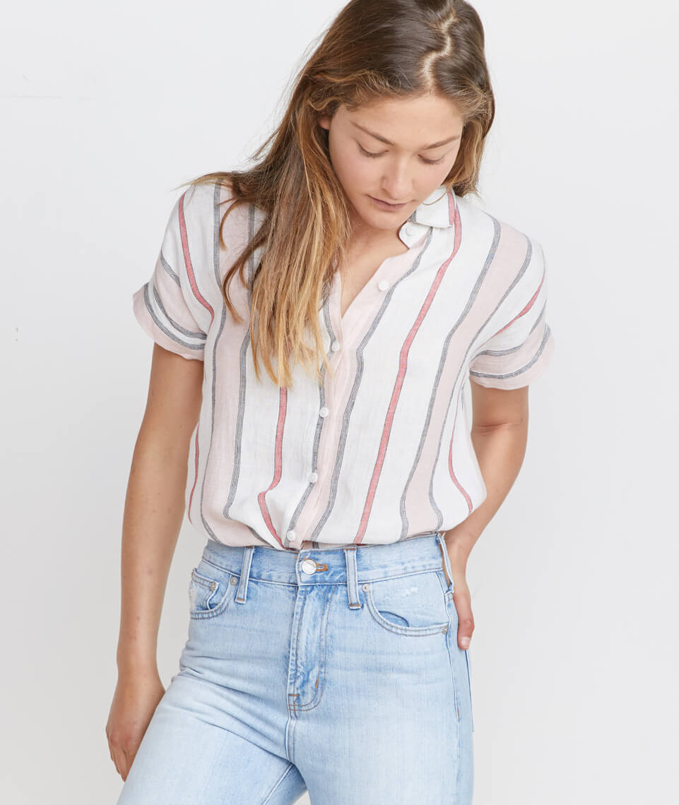 Ellie Button Down