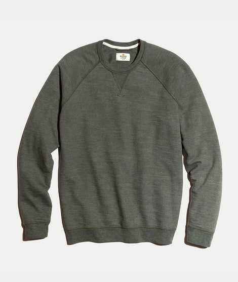 Everest Sweatshirt in Moss