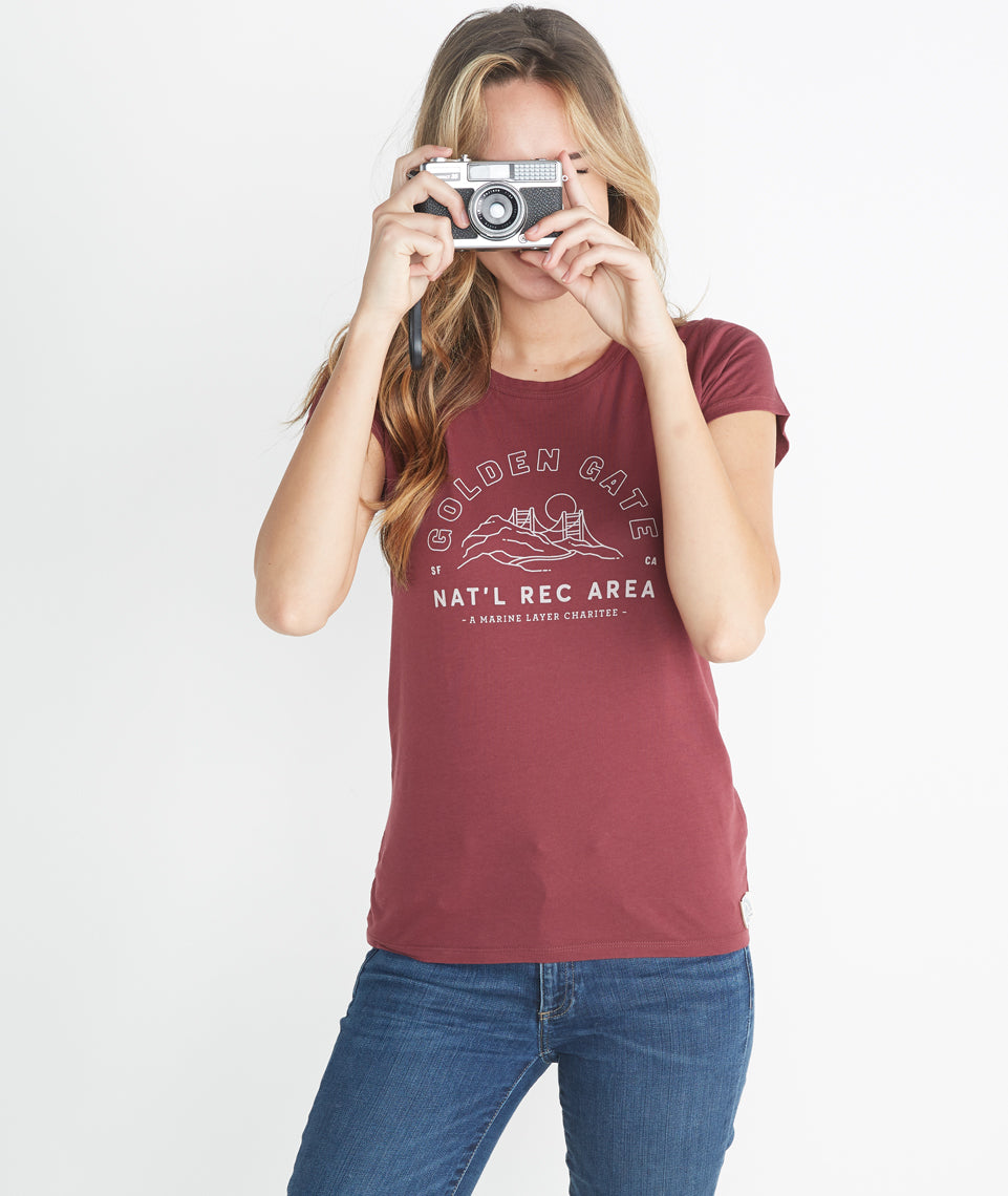 The Golden Gate Tee - Gals
