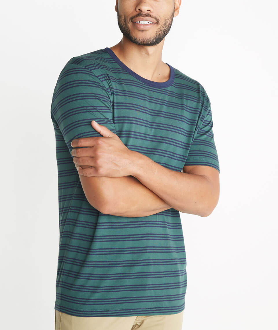 Grant Striped Crewneck
