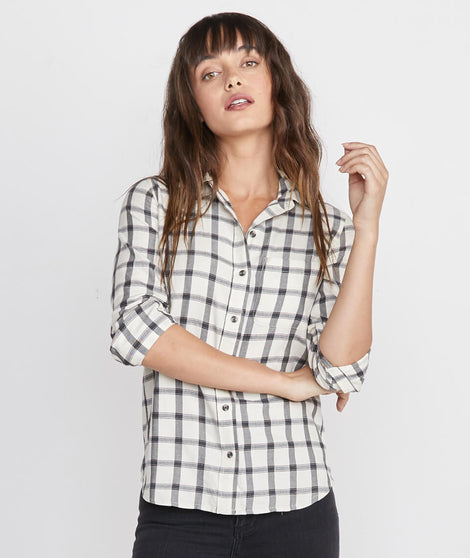Hallie Button Down