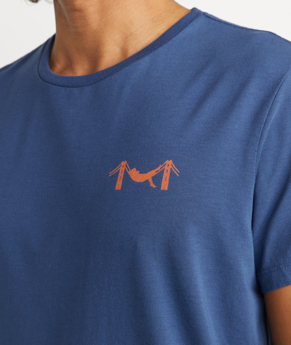 Hammock Tee in Navy