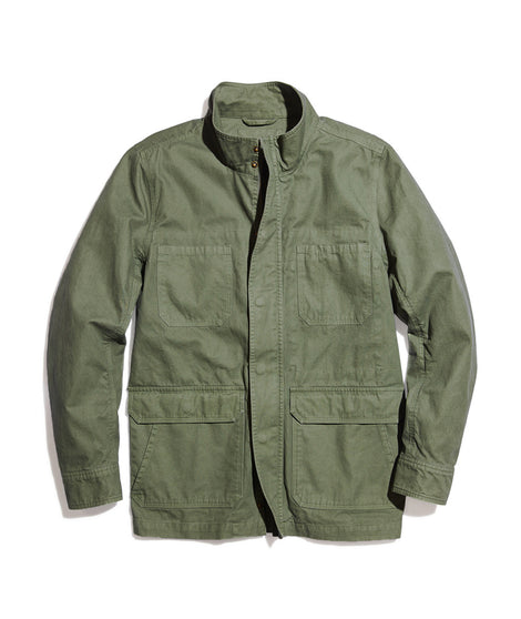 Hoover Utility Jacket in Faded Olive