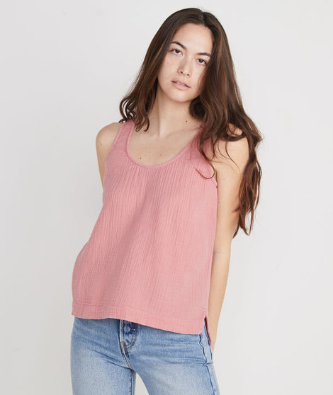 Jackie Tank in Dusty Rose