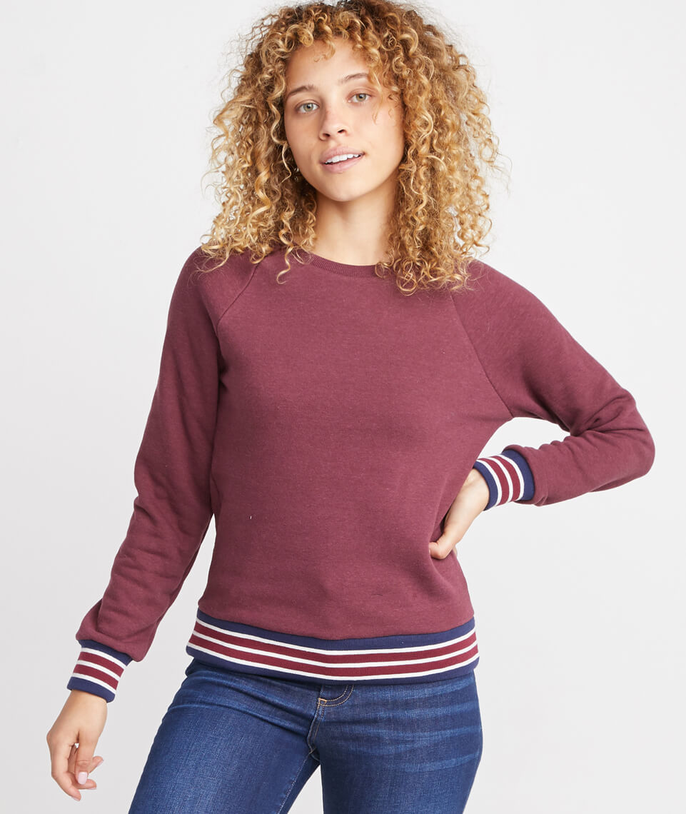 Jenny Crewneck Sweatshirt in Port Royal