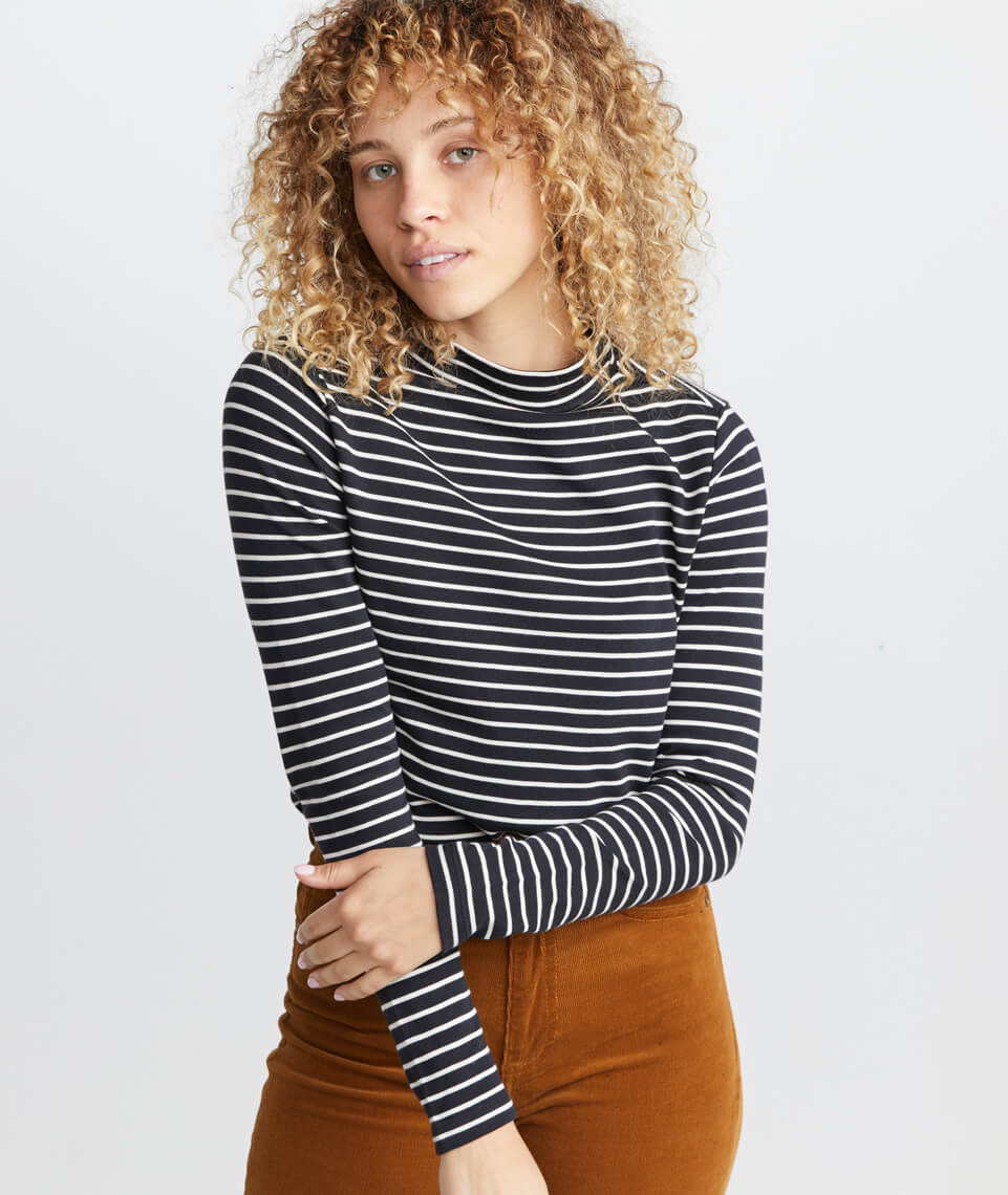 Julianne Mock Neck