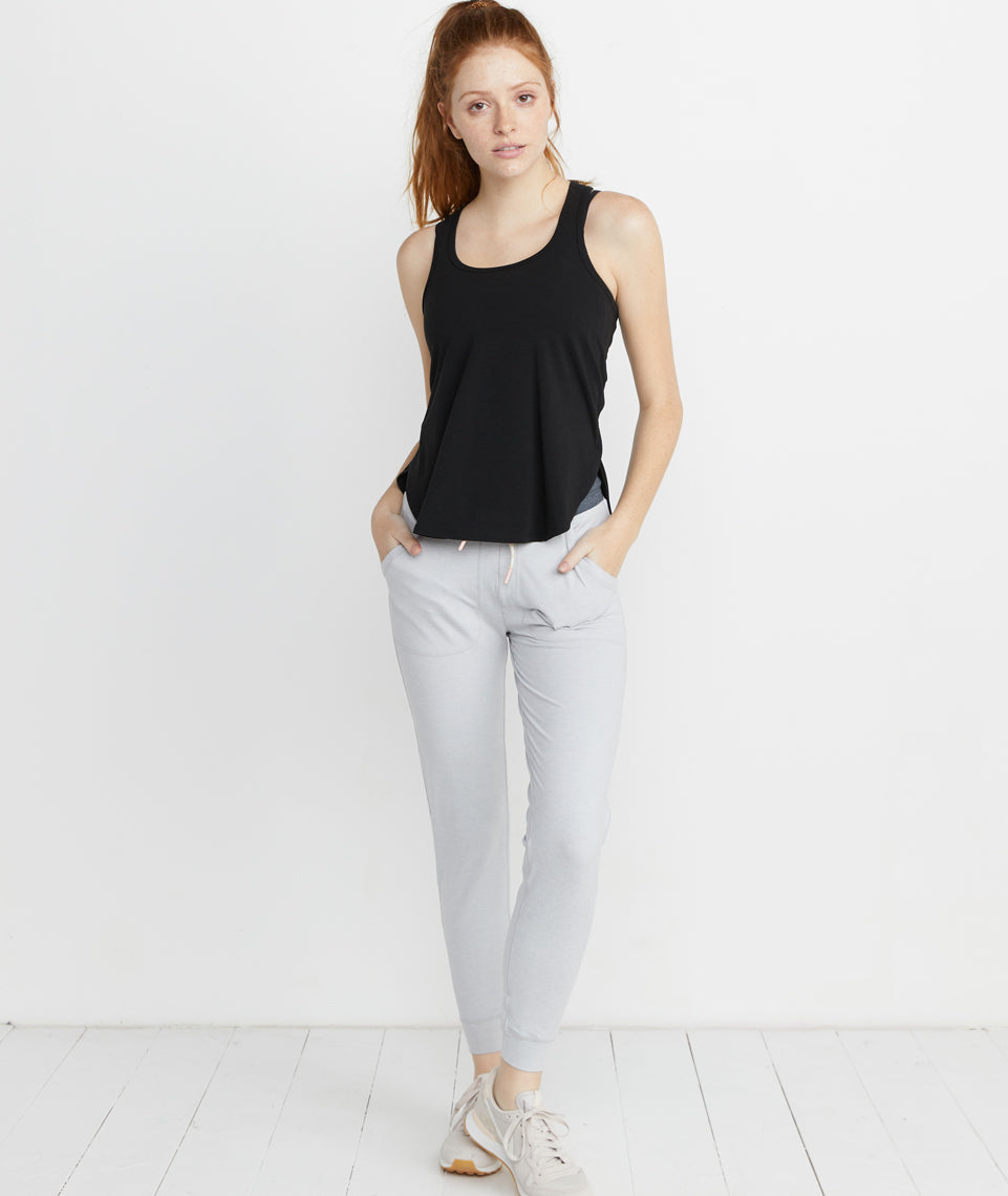 Suki Sport Tank in Black
