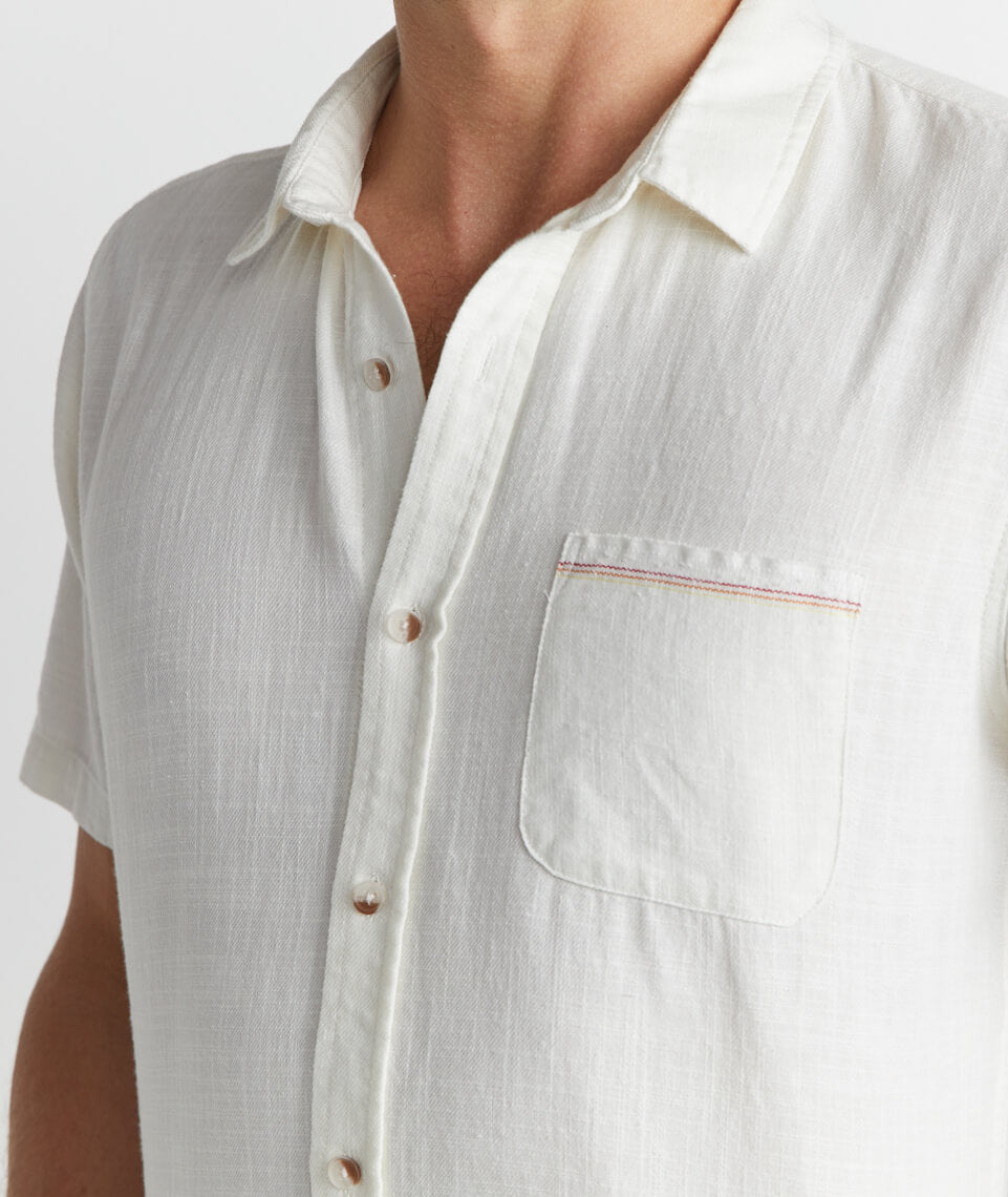 Lance Button Down in Natural