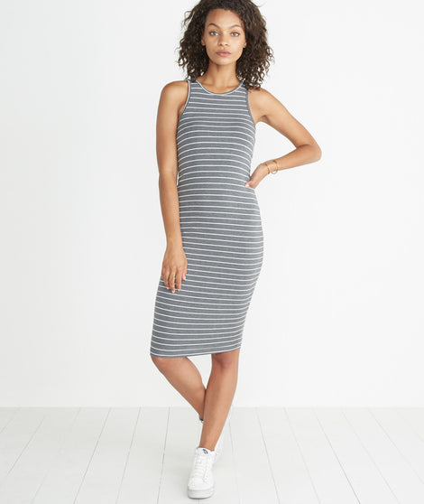 Lexi Midi Tank Dress - Striped