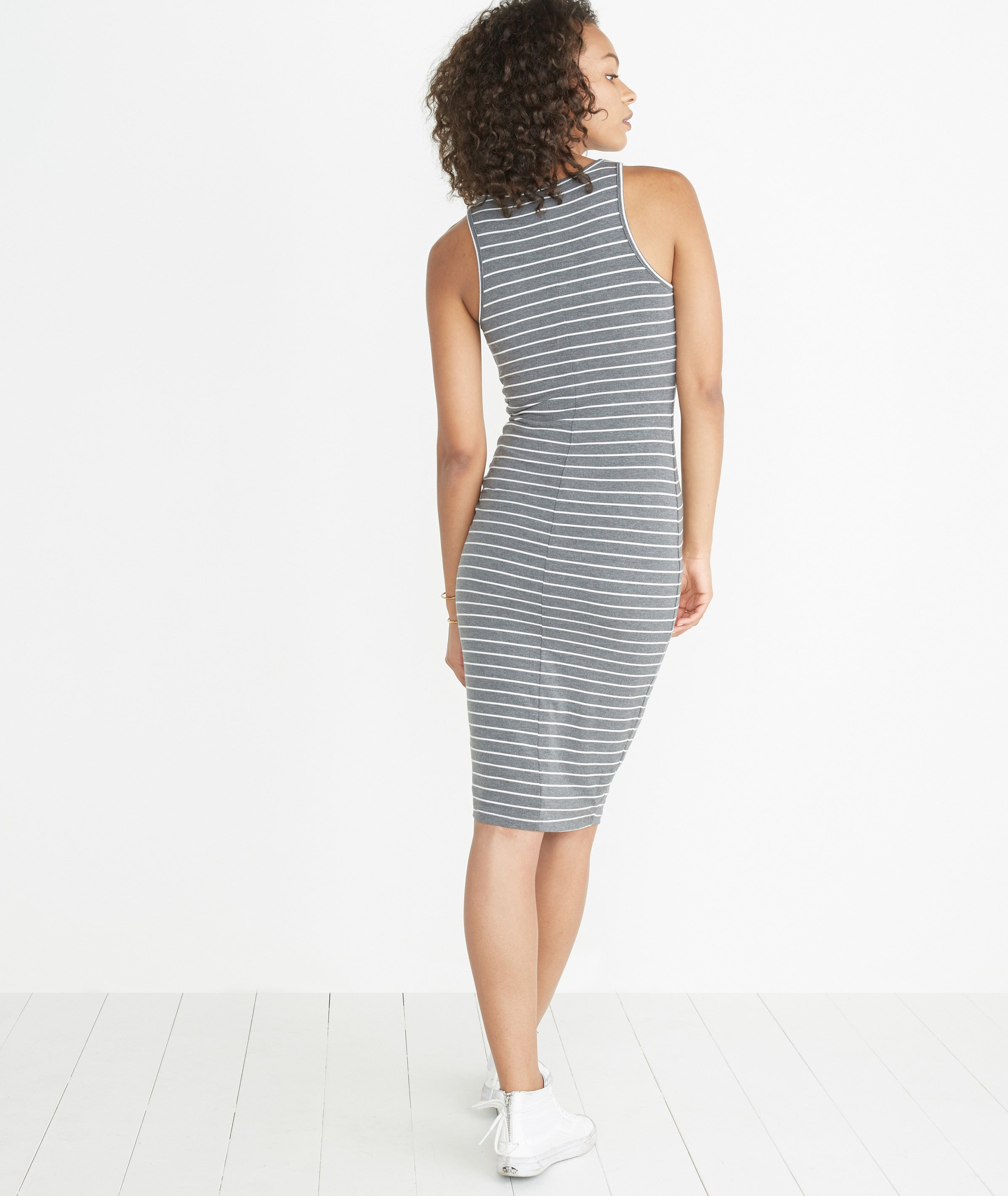 c2d3eef1252 Lexi Midi Tank Dress - Striped – Marine Layer