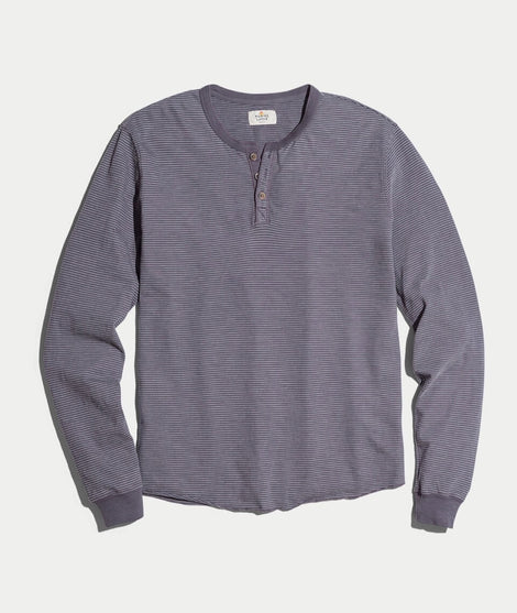 Lightweight Henley in Ink