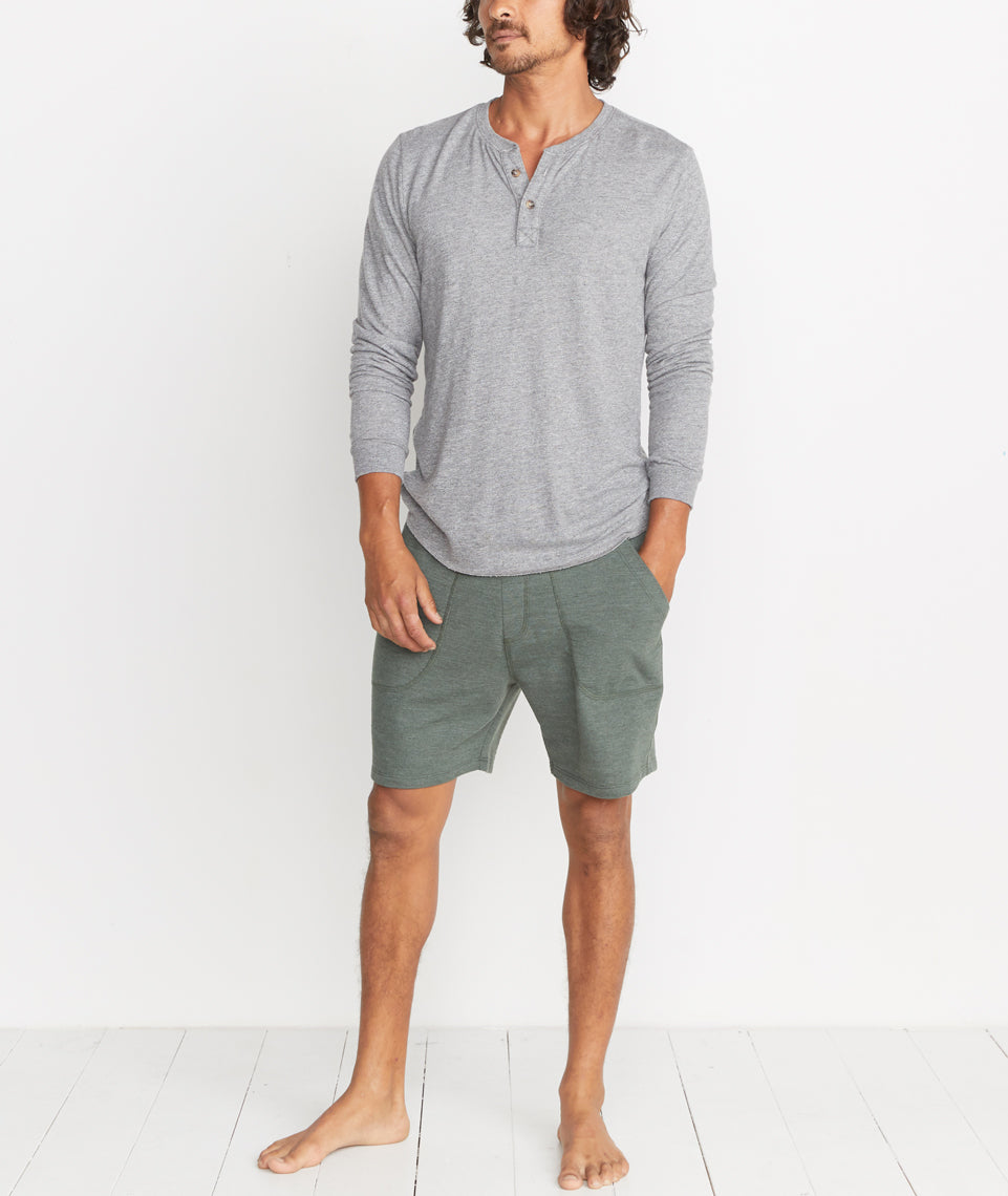 Lounge Short in Moss