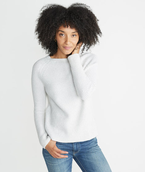 Aspen Sweater in Snow White