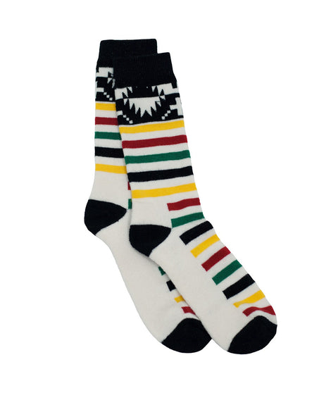 Pendleton x National Parks Sock in Ivory