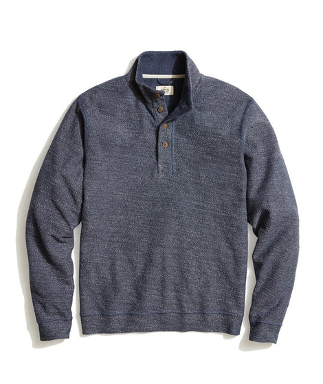 Clayton Pullover in Dark Denim