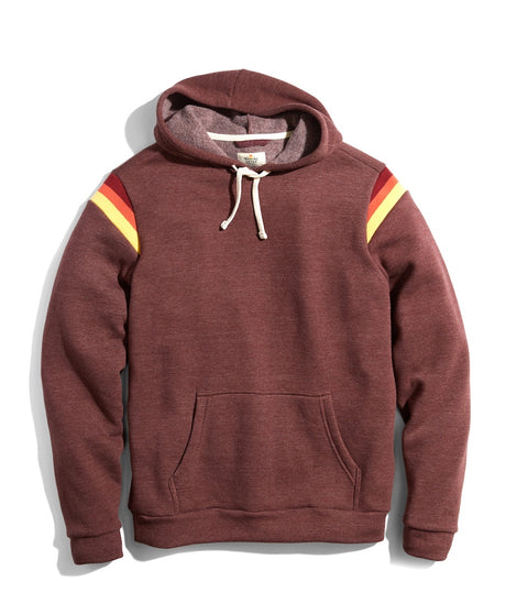 Banks Pullover Hoodie in Chocolate half