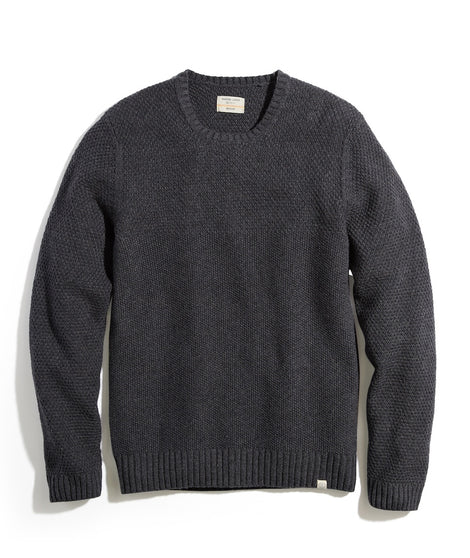 Prescott Crewneck Sweater in Storm Grey