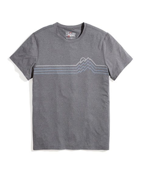 Sport Crew in Dark Heather Grey Mountain Peak