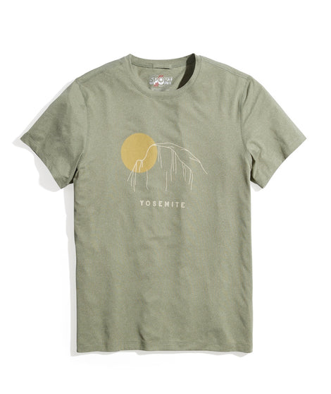 Sport Crew in Lichen Heather Yosemite