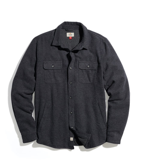 Signature Lined Camping Shirt in Grey Heather