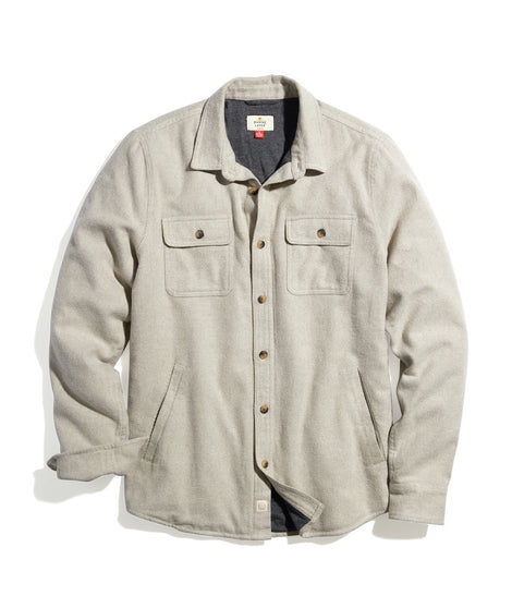 Signature Lined Camping Shirt in Oatmeal