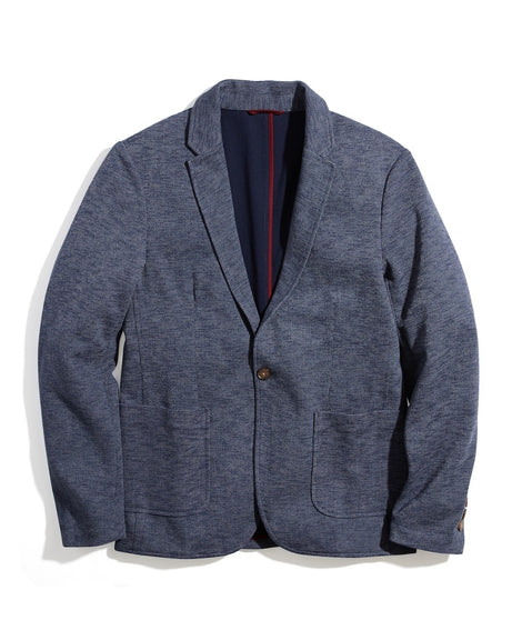 Warner Heathered Terry Blazer