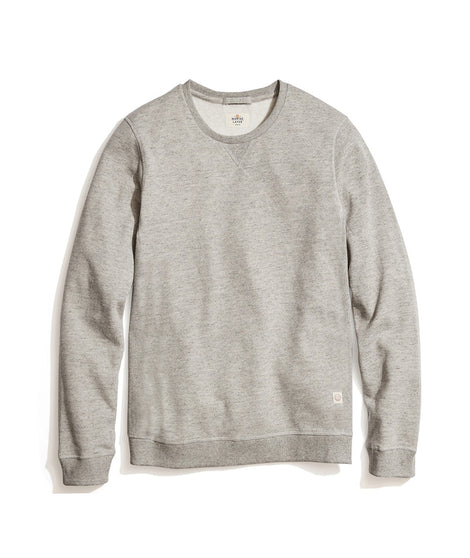 Athletic Crew in Medium Heather Grey