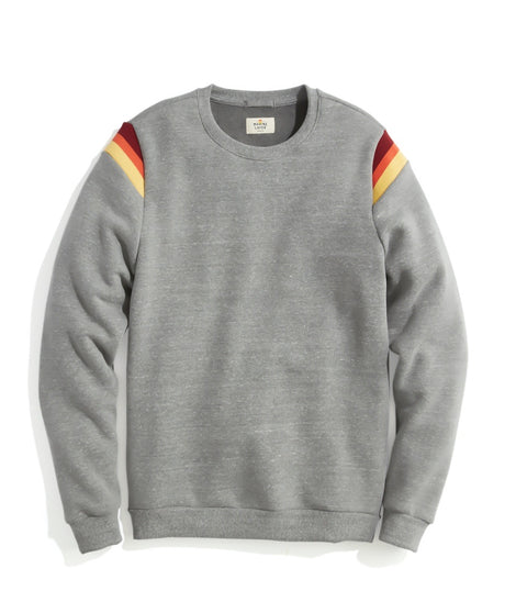Banks Crew Sweatshirt in Dark Heather Grey