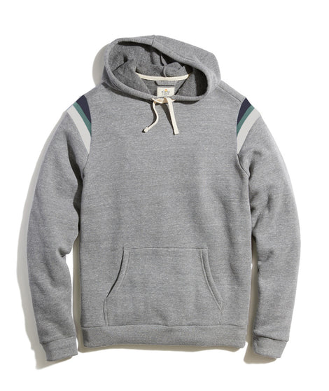 Banks Pullover Hoodie in Heather Grey