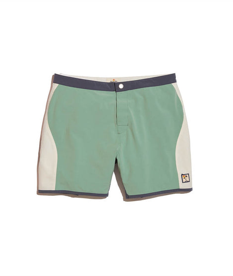 Bel-Air Boardies in  Green Colorblock