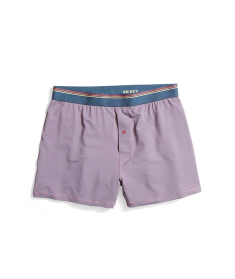 Best Boxers Ever in Heather Rose/China Blue