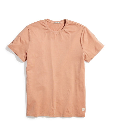 Signature Crew Tee in Terra Cotta