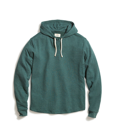 Double Knit Hoodie in Green Gables