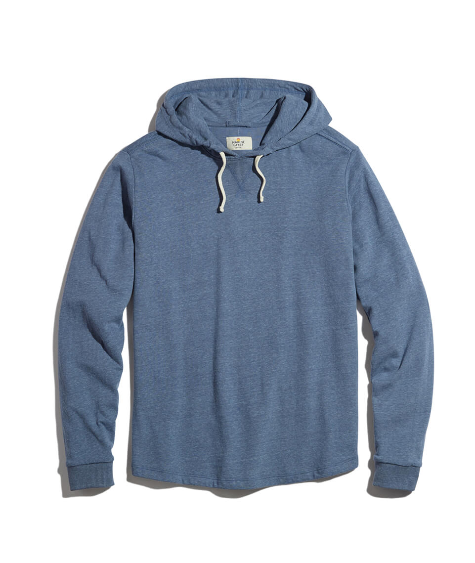 d5d688140374 Double Knit Hoodie in Navy – Marine Layer