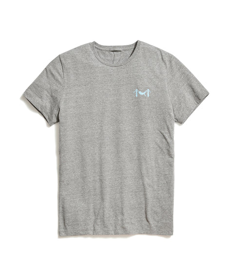 Hammock Tee in Heather Grey