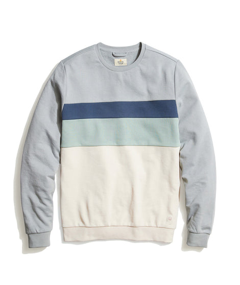 Jordan Sweatshirt in Grey/Natural Colorblock