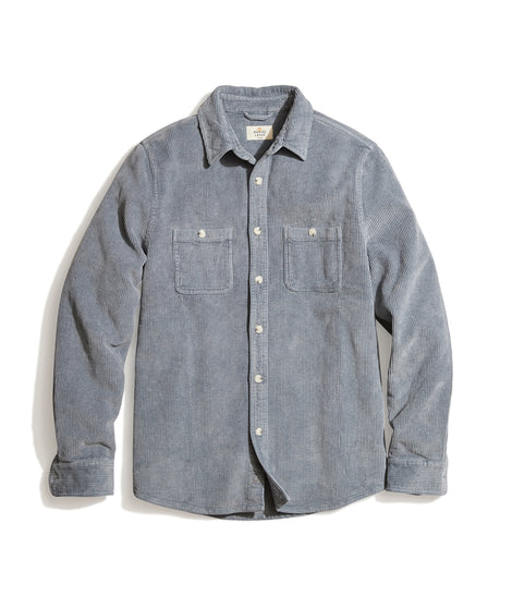 Max Overshirt in Light Indigo
