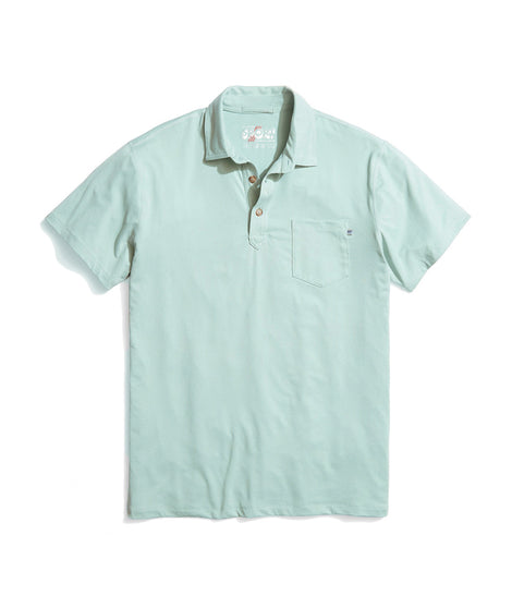 Palmer Sport Polo in Surf Blue
