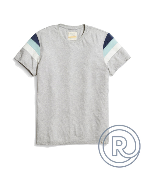 Re-Spun Banks Tee in Heather Grey