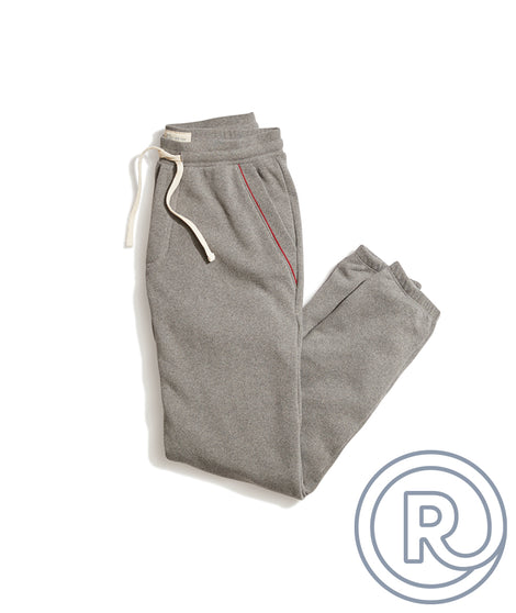 Re-Spun Lounge Jogger in Heather Grey
